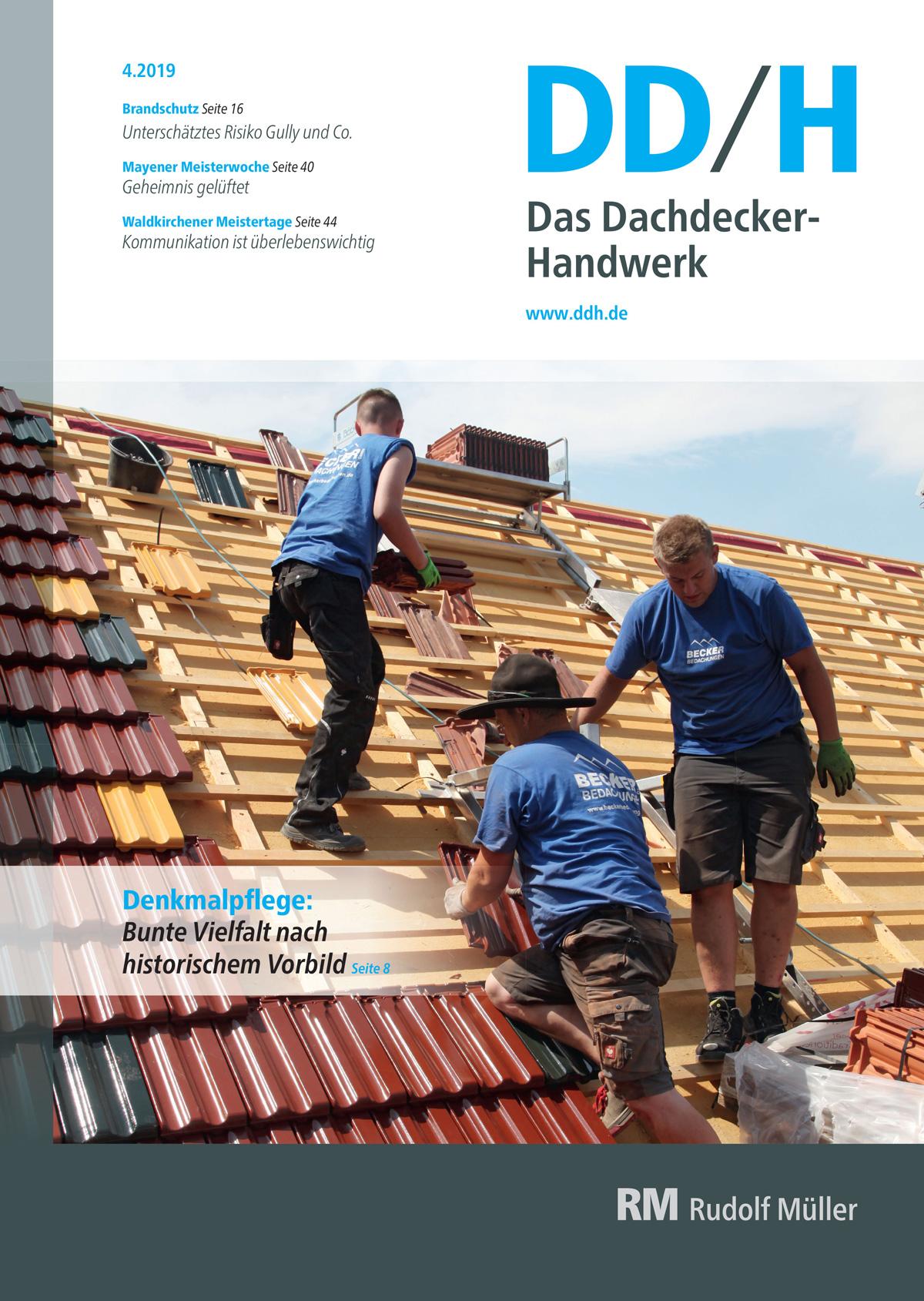 DDH Das Dachdecker-Handwerk