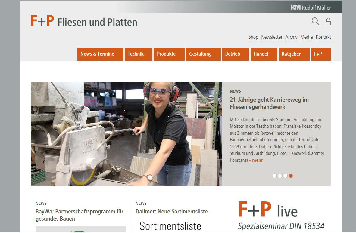 F+P Website