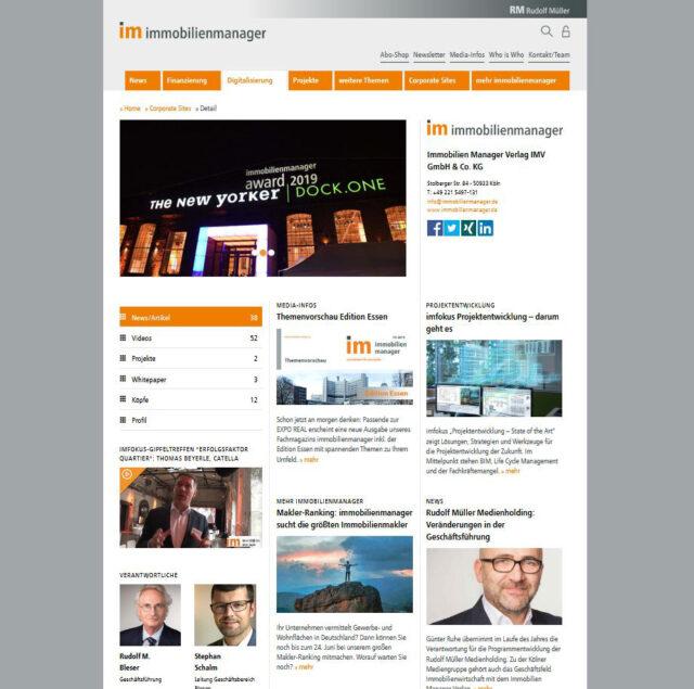 Corporate Sites